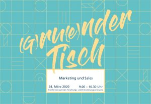 (G)ru(e)nder Tisch: Marketing und Sales @ Hochschule Magdeburg-Stendal